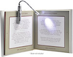 Book Light Laser Pointer